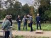 Indvielse af lys i Endrup Naturpark - overrækkelse af gaver som tak for indsats