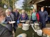 Indvielse af lys i Endrup Naturpark - servering af klar suppe og porre/pikant suppe